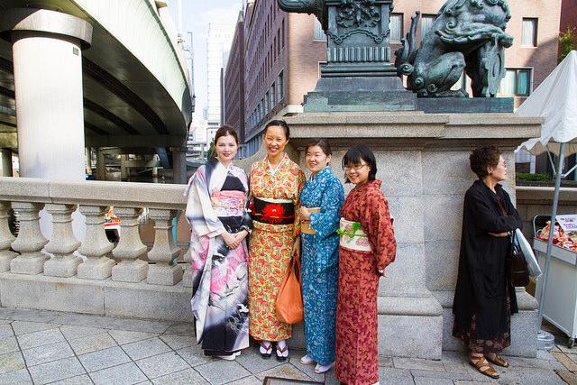 kimono lesson